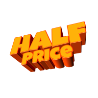 half price logo